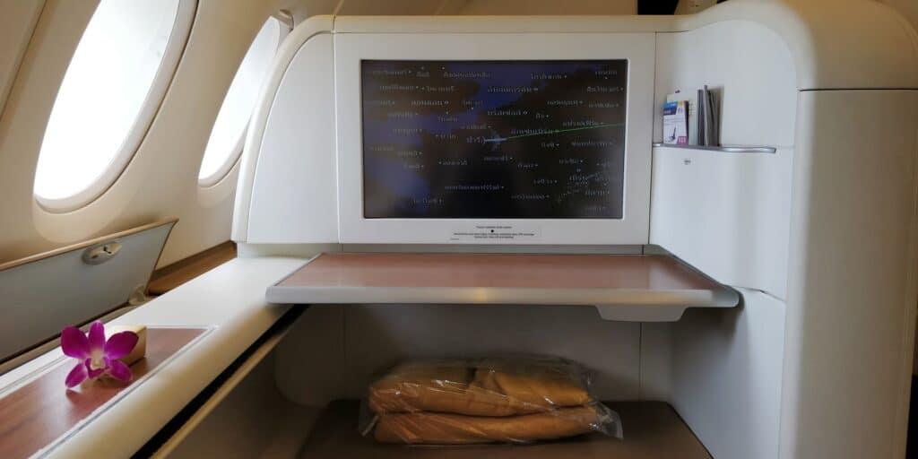 Thai Airways First Class Airbus A380 Sitz 3