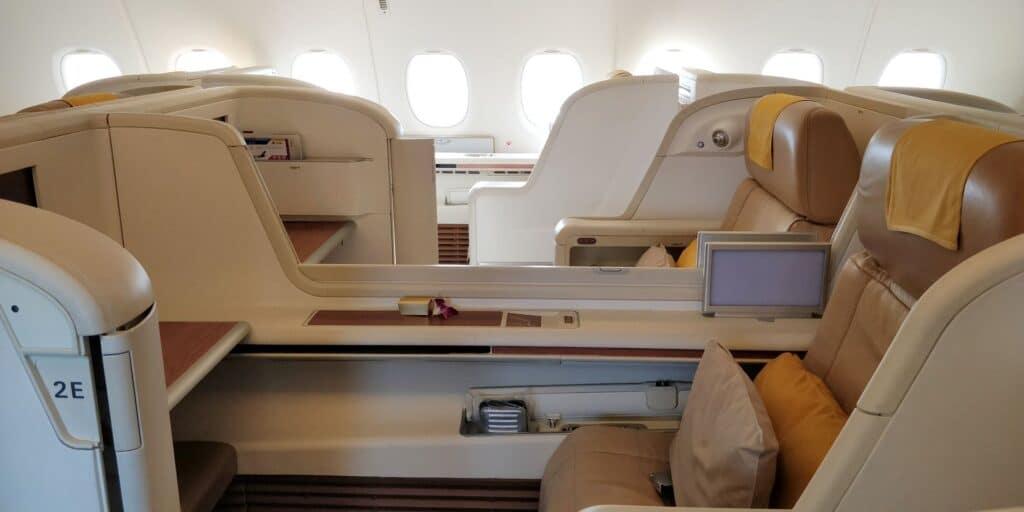 Thai Airways First Class Airbus A380 Sitz 6
