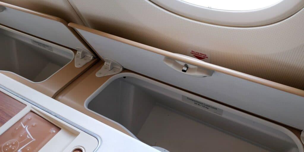 Thai Airways First Class Airbus A380 Sitz 7