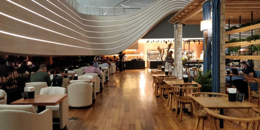 Turkish Airlines Lounge Istanbul 2