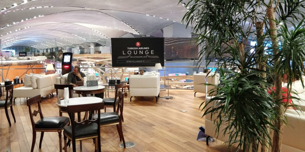 Turkish Airlines Lounge Istanbul 3