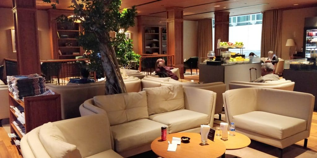 Turkish Airlines Lounge Istanbul Business 10