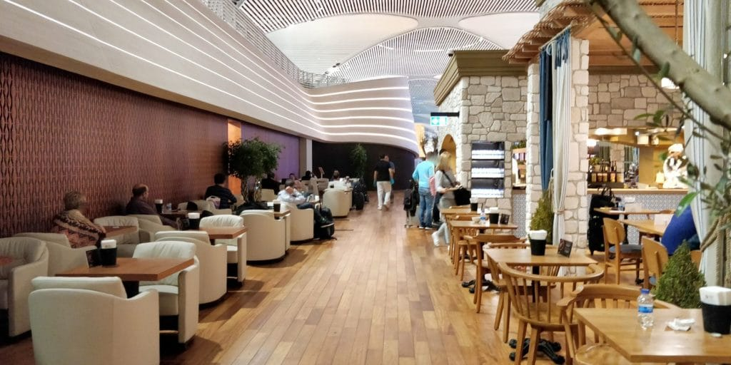 Turkish Airlines Lounge Istanbul Business 12