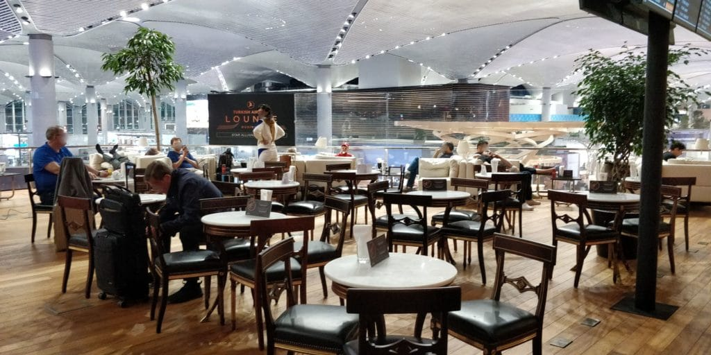 Turkish Airlines Lounge Istanbul Business 9
