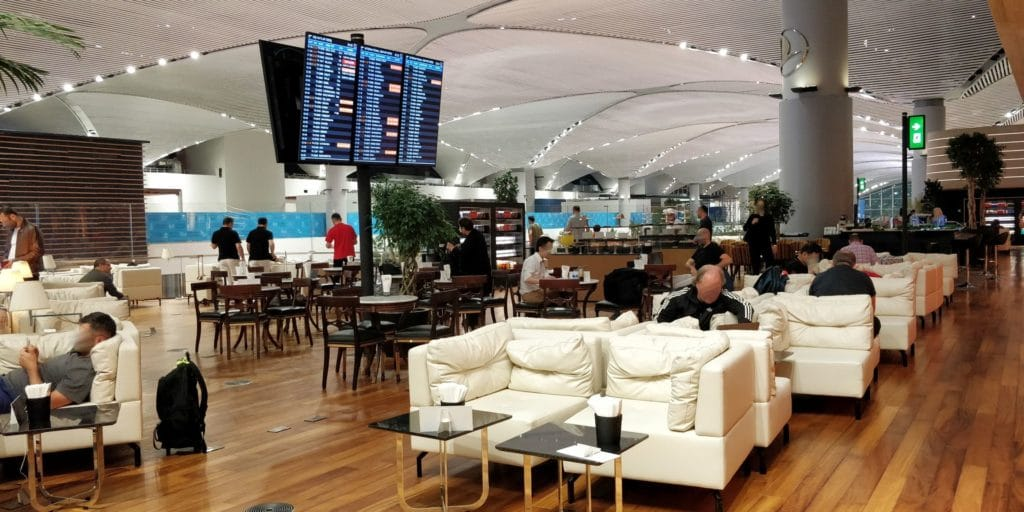 Turkish Airlines Lounge Istanbul Miles Smiles 9
