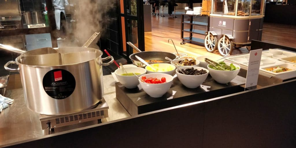 Turkish Airlines Lounge Istanbul Miles Smiles Buffet 4