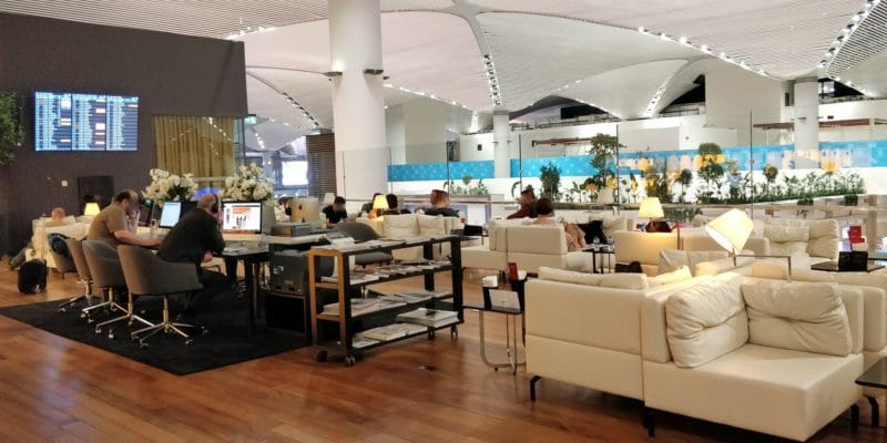 Turkish Airlines Lounge Istanbul Miles Smiles Business Center