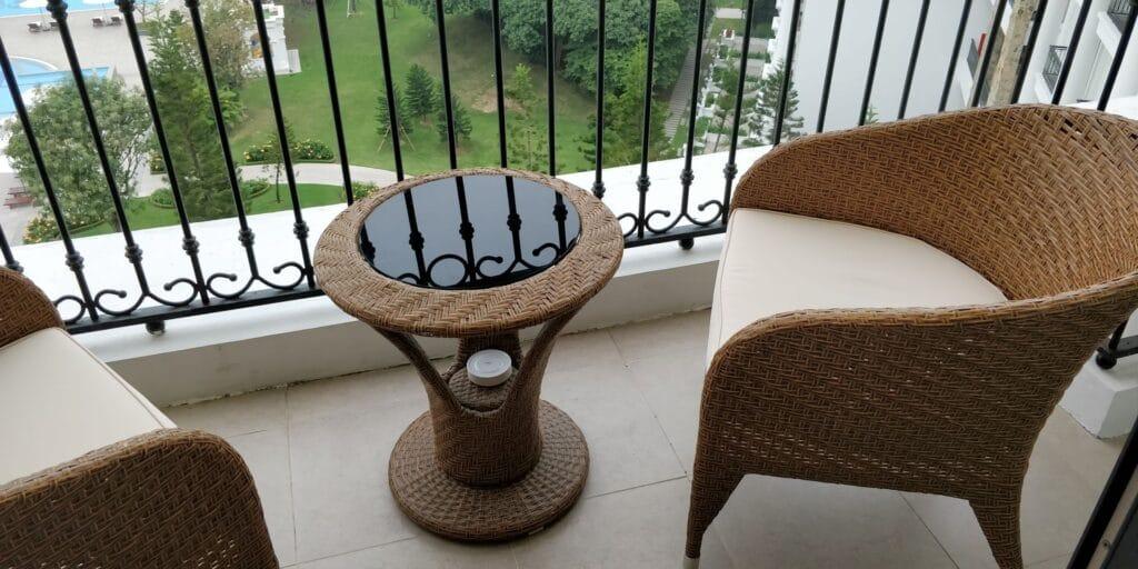 Vinpearl Resort Ha Long Bay Balkon