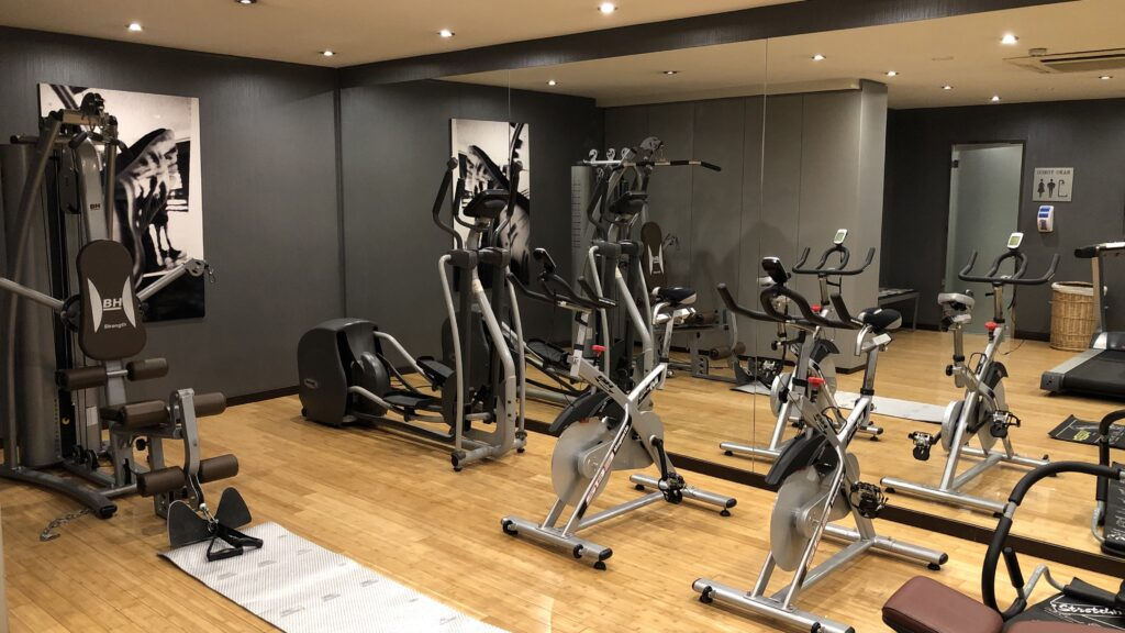 Ac Hotel Madrid Airport Gym