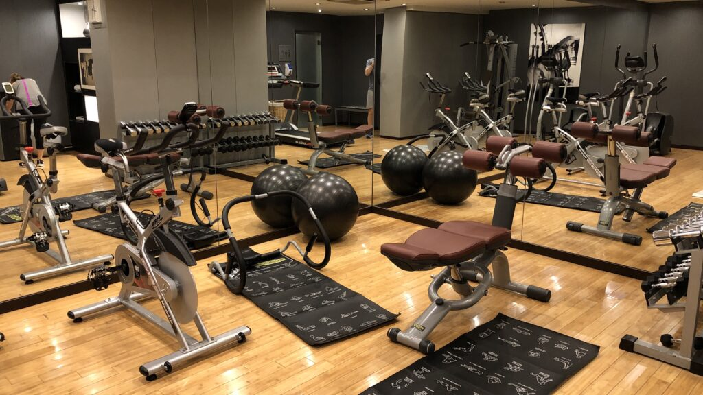Ac Hotel Madrid Airport Gym 3