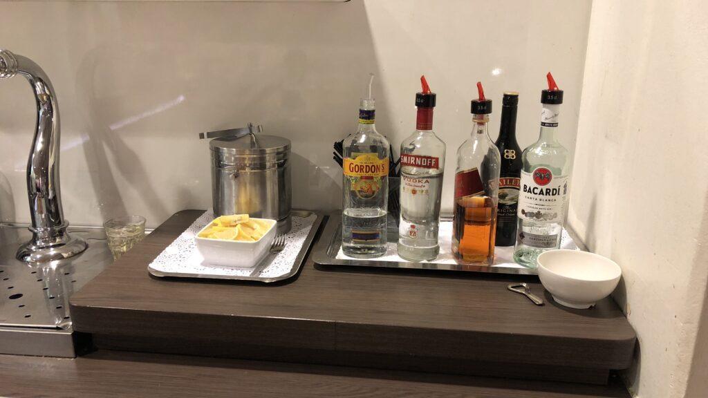 Aspire Lounge Amsterdam 26 Alkohol