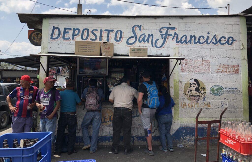 Bar Antigua Guatemala Markt