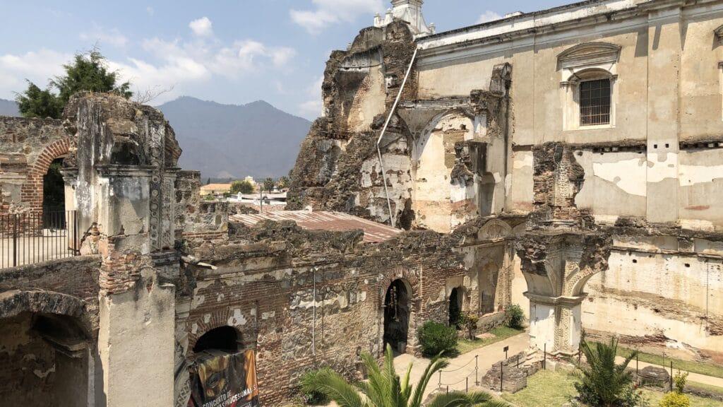 Kloster Ruine Antigua Guatemala
