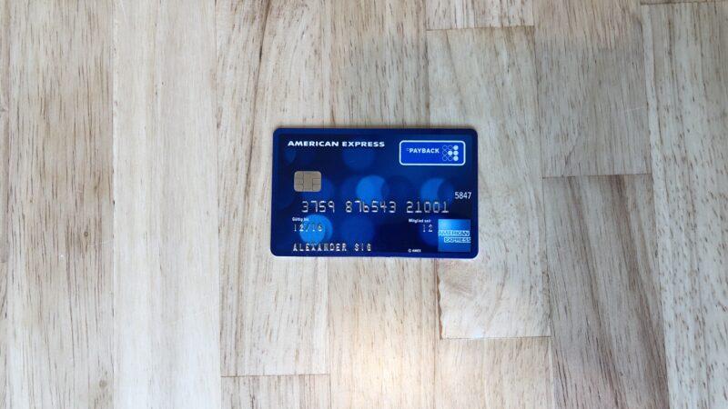 Payback American Express Kreditkarte