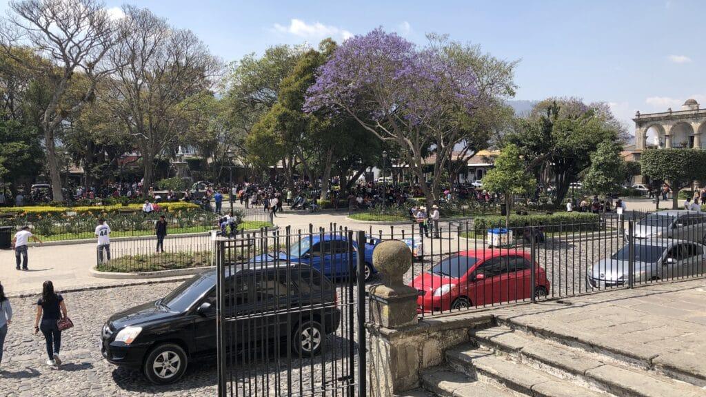 Zentralplatz Antigua Guatemala