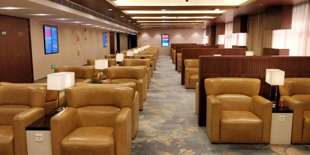 China Eastern Lounge Shanghai Pudong Terminal 1