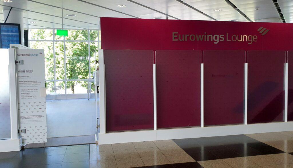 Eurowings Lounge München Eingang
