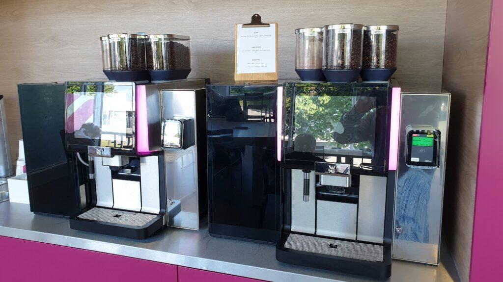 Eurowings Lounge München Kaffeemaschine