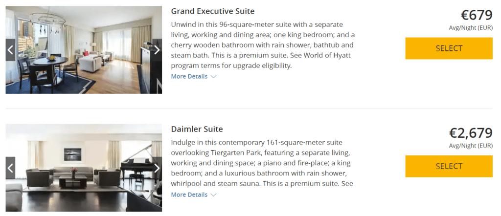 Grand Hyatt Berlin Suiten Prive