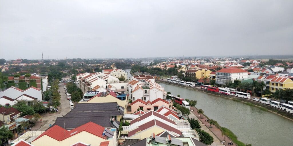 Hotel Royal Hoi An Rooftop Pool Ausblick