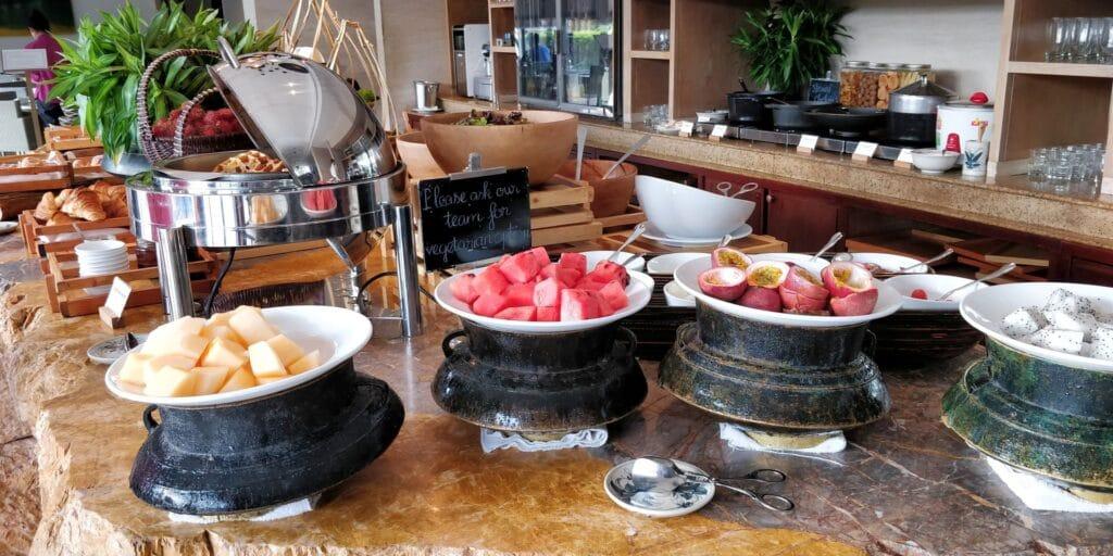 Hyatt Regency Danang Resort Lounge Frühstück