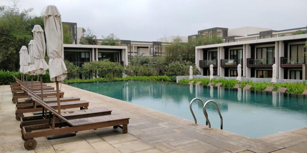 Hyatt Regency Danang Resort Lounge Pool
