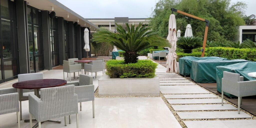 Hyatt Regency Danang Resort Lounge Terrasse