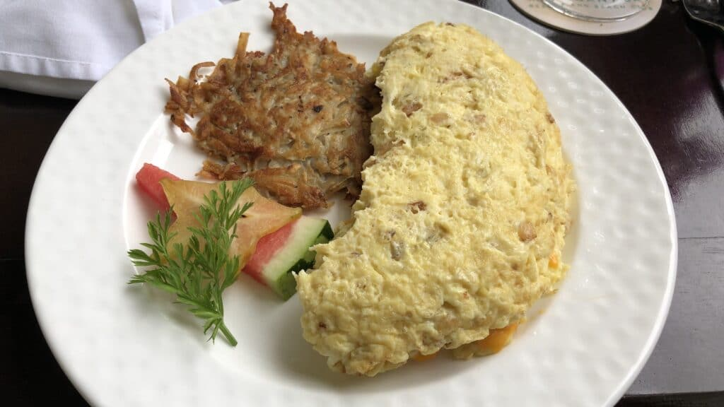 Mahogany Bay Resort Curio Collection By Hilton San Pedro Belize Omelette