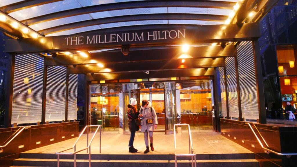 Millennium Hilton New York Downtown Eingang
