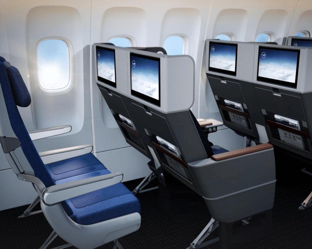 Neue Lufthansa Premium Economy Class