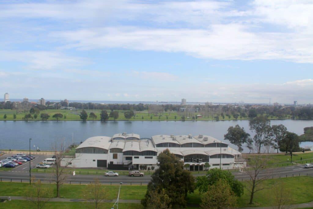 Pullman Melbourne Albert Park Ausblick