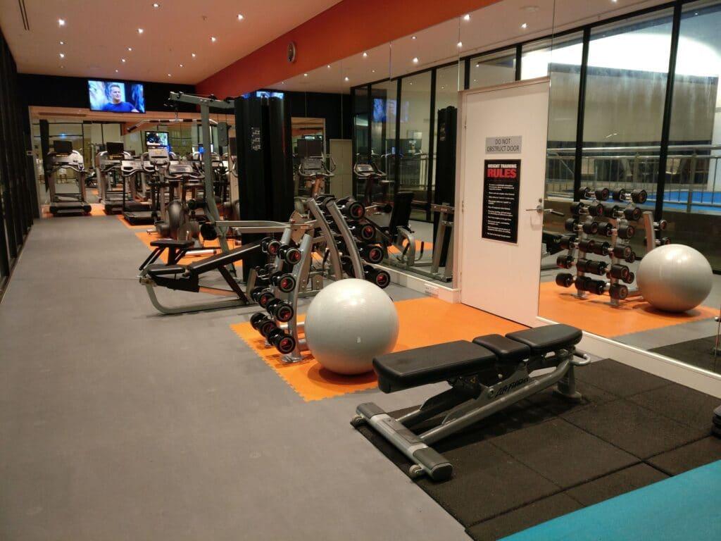 Pullman Melbourne Albert Park Fitness