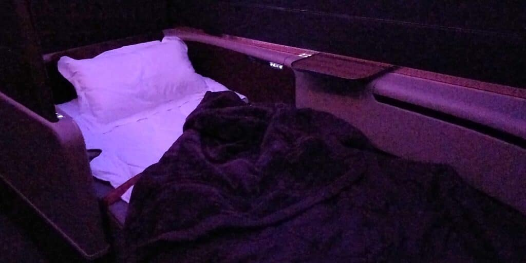 Qatar Airways First Class Bett