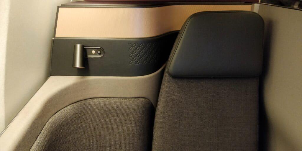 Qatar Airways QSuite Business Class Sitz