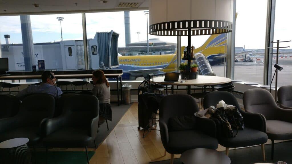 SAS Lounge Paris CDG