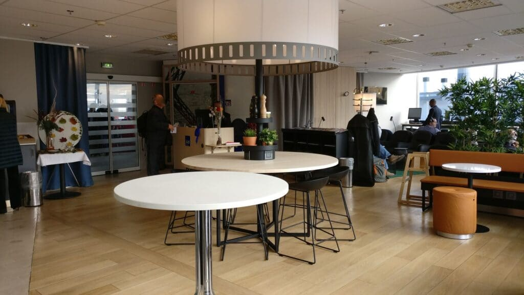 SAS Lounge Paris CDG 6