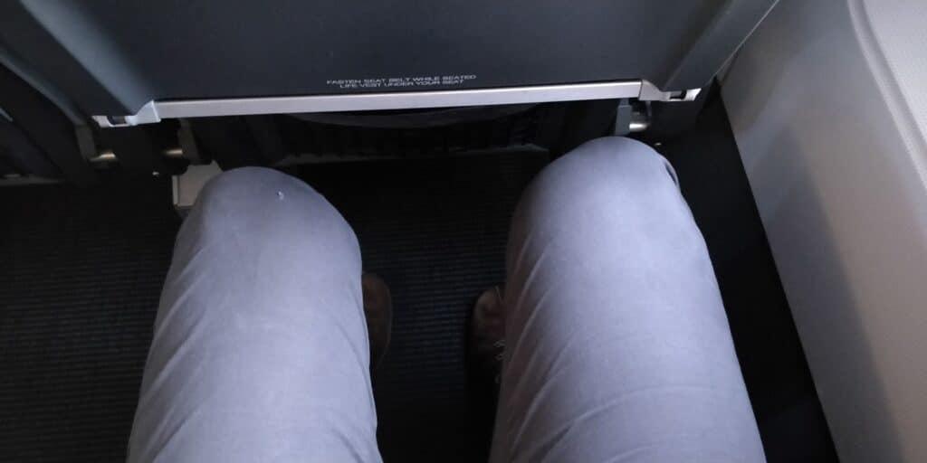 SAS Plus Airbus A320 Sitz 2