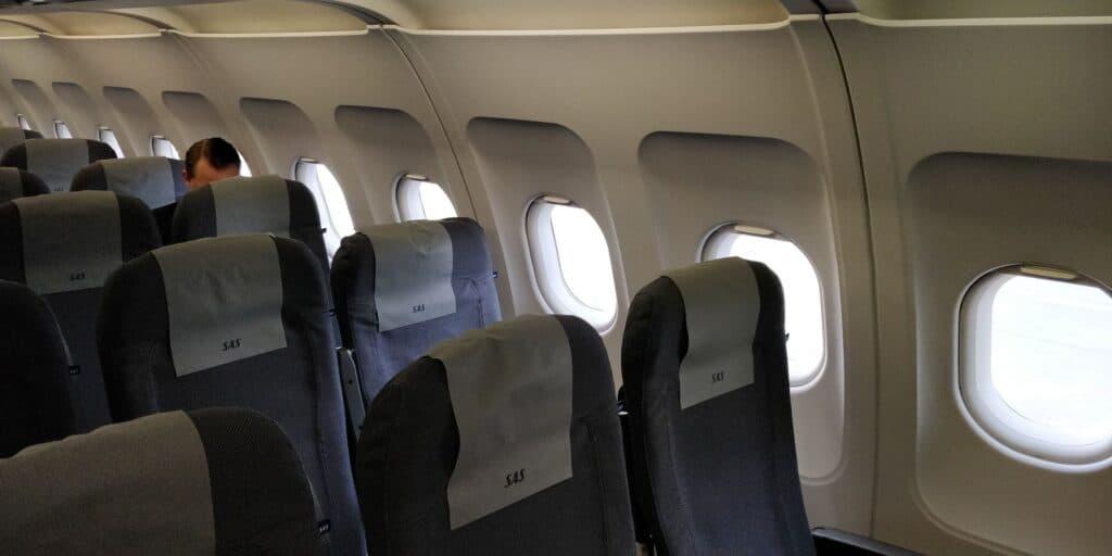 SAS Plus Airbus A320 Sitz 4
