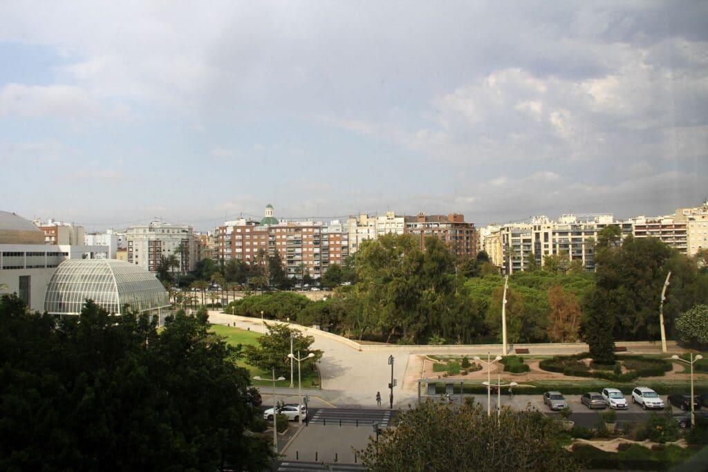 SH Valencia Palace Ausblick