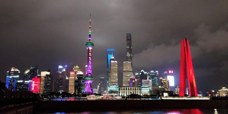 Shanghai Skyline Nacht