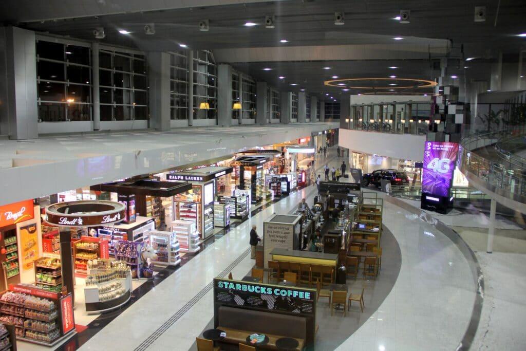 Star Alliance Lounge Sao Paulo Ausblick