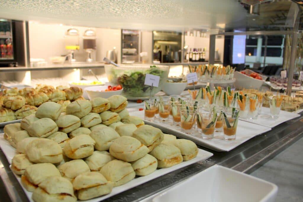 Star Alliance Lounge Sao Paulo Buffet 6