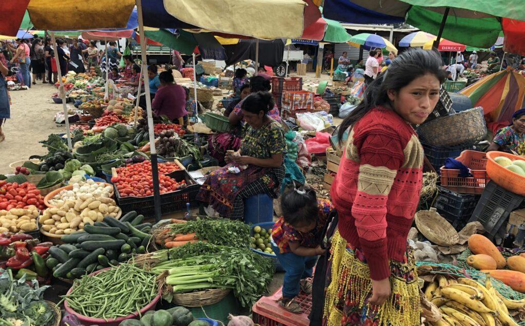 Antigua Guatemala Markt