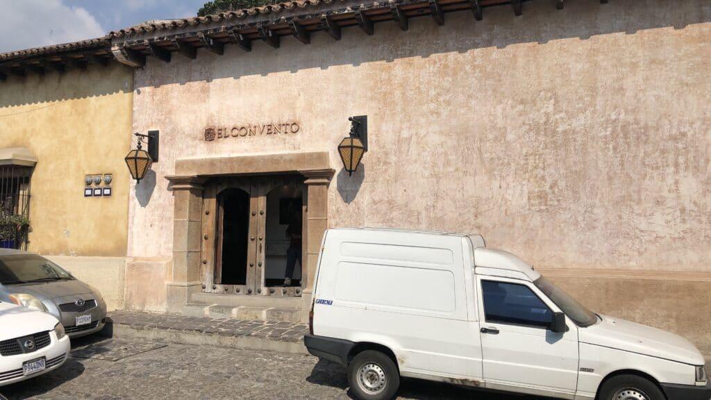El Convento Boutique Hotel Antigua Guatemala Eingang