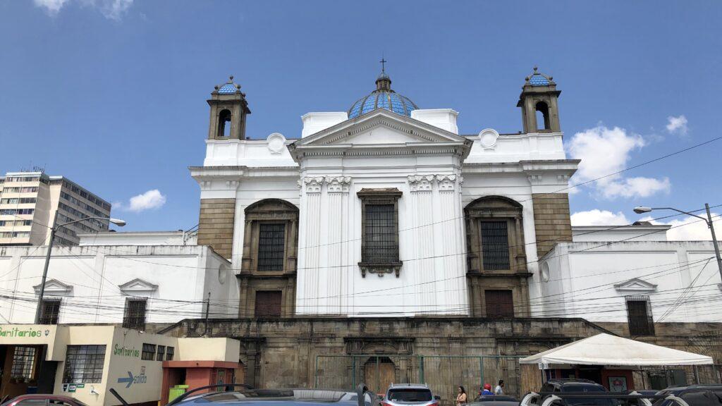 Guatemala City Kathedrale Außen