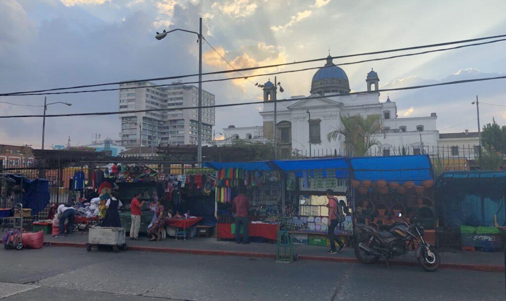 Guatemala City Markt Außen