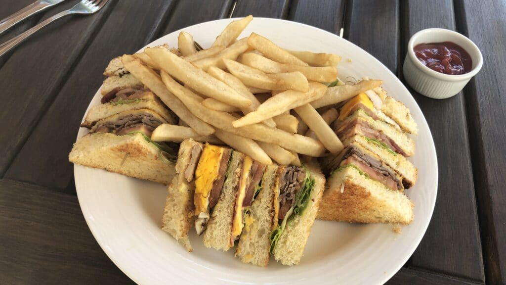 Hilton Guatemala City Club Sandwich