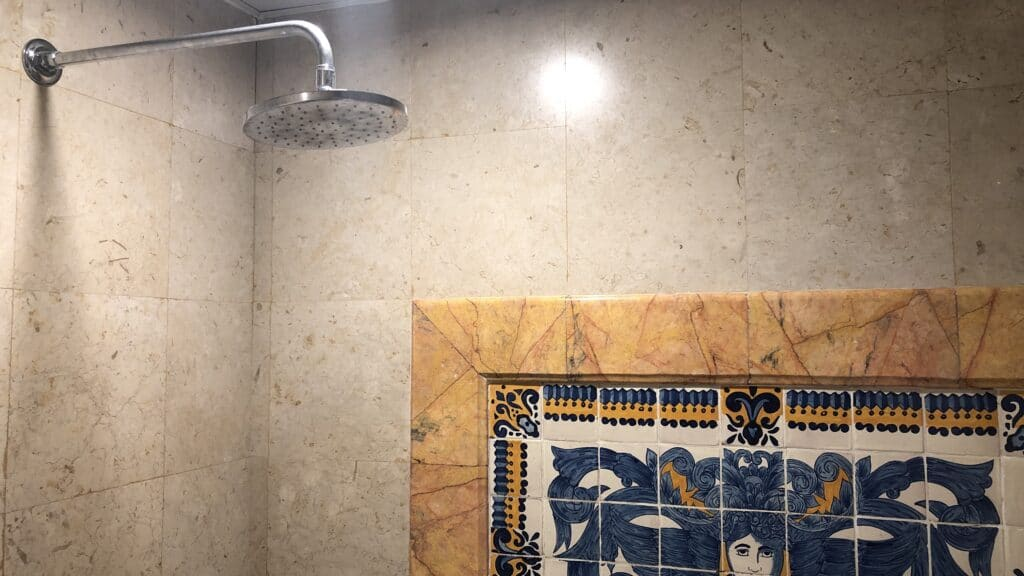 Hilton Guatemala City Dusche