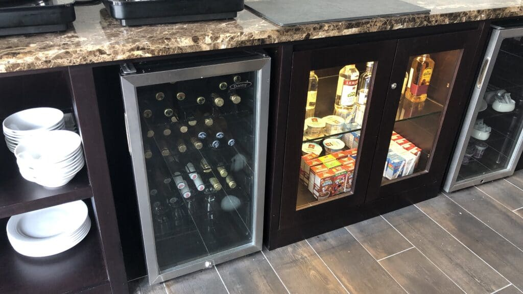 Hilton Guatemala City Executive Lounge Drinks