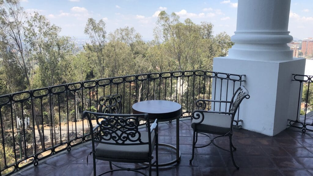 Hilton Guatemala City Executive Lounge Terrasse